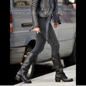 Fiorentini + Baker Lety, 3 buckle boot. 39